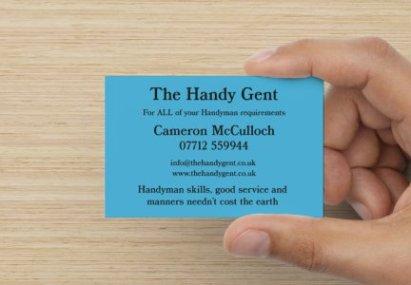 Round Gent Card 1